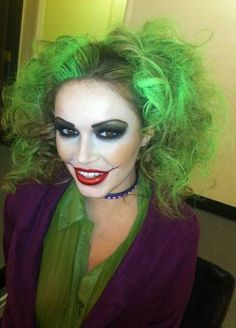 female joker cosplay - Google Search                                                                                                                                                                                 More