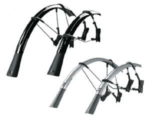 SKS Raceblade Pro Mudguards The ultimate clip-on mudguard set for road bikes. Raceblade set for max. tyre width up to 25mm Raceblade XL up to 32mm. The smart double hinged quick release fitting system also fits aero forks and is http://www.MightGet.com/april-2017-1/sks-raceblade-pro-mudguards.asp