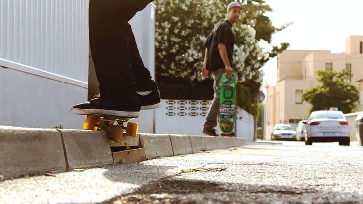 Increíble sucesión de trucos de Manolo Robles celebrando sus 30 años. #videos #skate #skateboarding #Penny