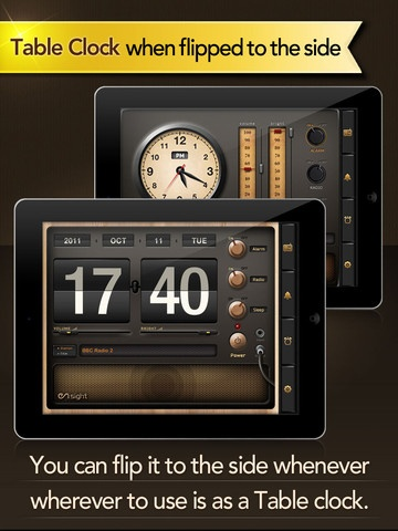 Radio Alarm Clock HD - Multipurpose Classic Themed Radio