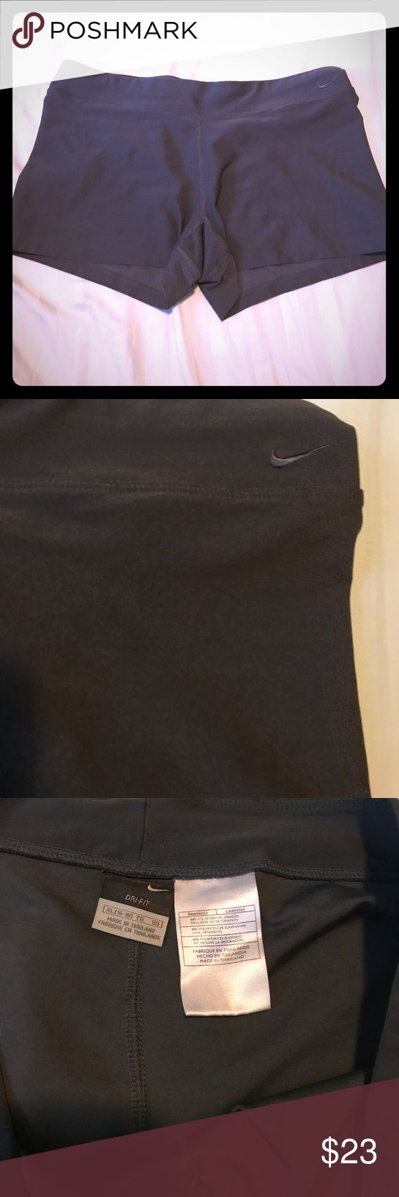 Dri-Fit Nike shorts Gray Nike dri-fit shorts, barely worn. Like new! Nike Shorts