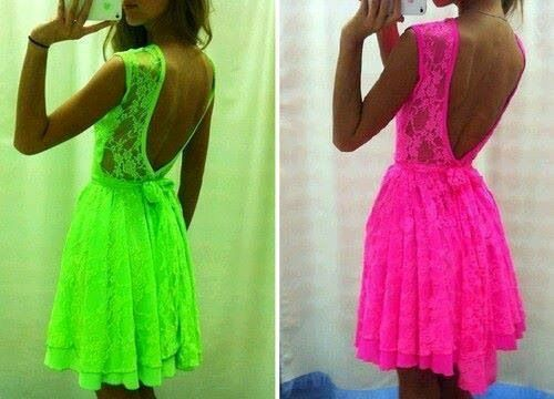 Love the neon color