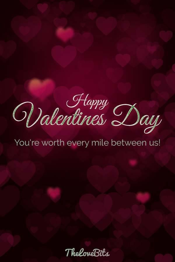 Valentines Day Quotes for Long Distance Relationships