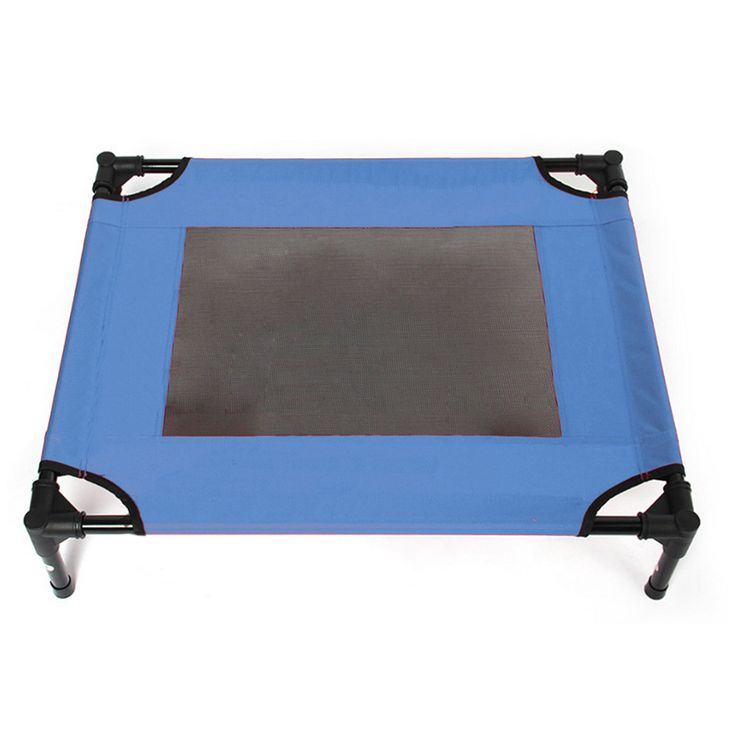 Pet Tent Camp Bed Outdoor Foldable blue S