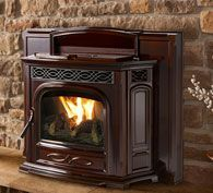 Pellet Fireplace Inserts   Harman Stoves - like the look of this one.  Put it in the fireplace, but what kind of mantel?