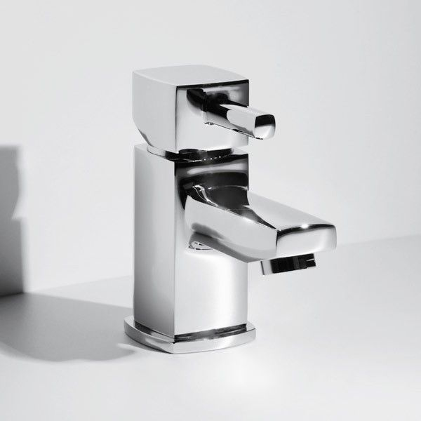 Metro Cloakroom Basin Mixer Tap, priced at £39.95. The Metro Cloakroom Basin Mixer Tap with cube handle design, ceramic disc technology and chrome finish. Order now at - http://www.taps.co.uk/metro-cloakroom-basin-mixer-tap.html