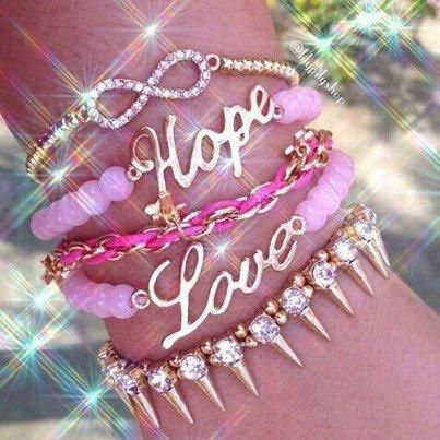 hope, pink, and girly image