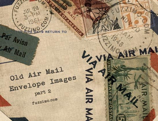 tons of freebies & printables: Free Hi Res, Old Air Mail Envelopes Part, Graphics Freebies, Vintage Envelopes, Airmail Envelopes, Free Download, Envelope Printables, Envelope Images, Free Printables