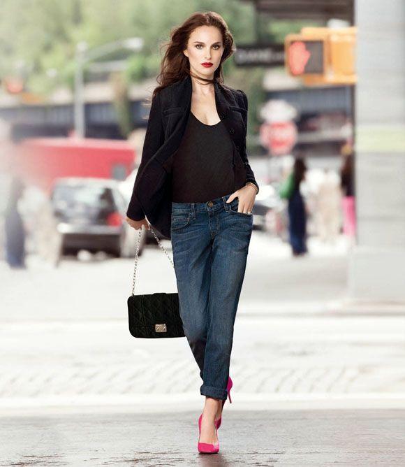 Natalie Portman in Dior Rouge lipstick | Miss at la Playa