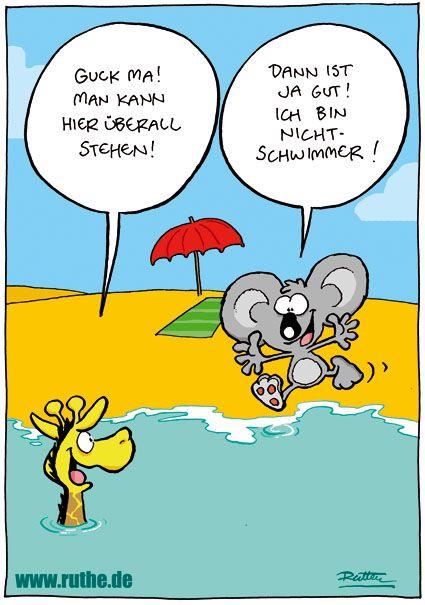 """Résultat de recherche d'images pour """"schwimmen lernen comic"""""""