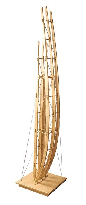 Model(s) of Jean-Marie Tjibaou Cultural Center, New Caledonia | Renzo Piano | Visit site for additional model photos