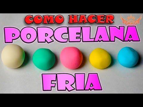 Tutorial PORCELANA FRÍA SIN FUEGO PASO A PASO/COLD PORCELAINE RECIPE ♥ NATALY OLVERA - YouTube
