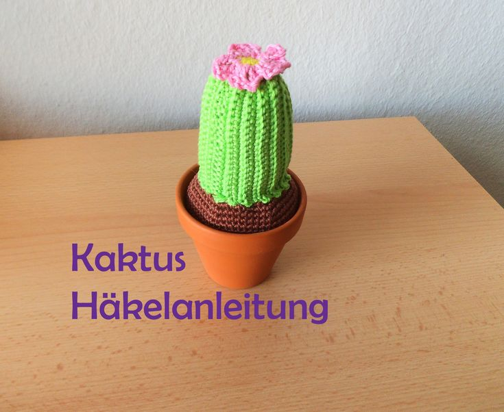 64 besten Häkelblumen Bilder auf Pinterest | Blumen häkeln, Kaktus ...