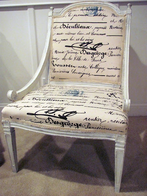 i would LOVE to find an old chair to refinish and reupholster...really, i've been looking at 2nd hand stores like crazy!