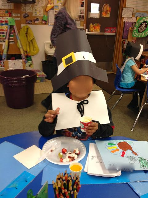 KFUNdamentals: Kindergarten Thanksgiving Feast Time!