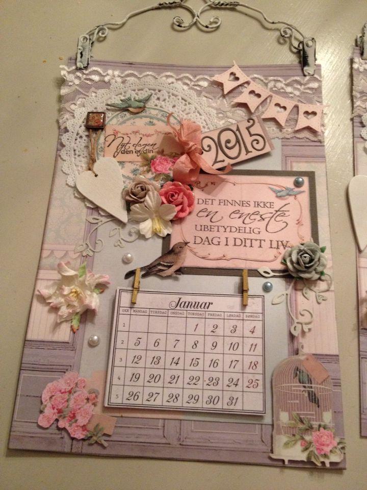 Kalender scrapbooking