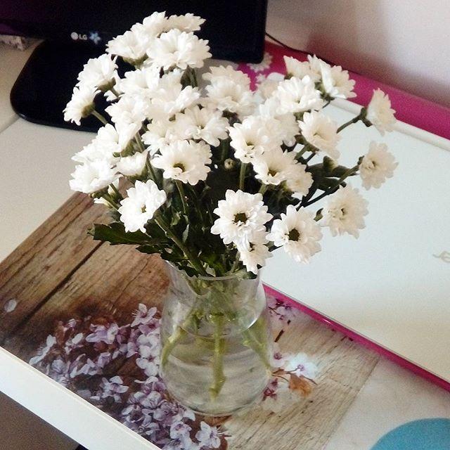 ❤ #niespodzianka #surprise #odniego #fromhim #kwiatki #flowers #bukiet #bouquet #margaretki