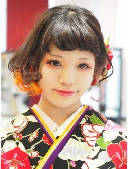 OPS HAIR feliz(オプスヘアーフェリース)ボブルーズアレンジセット★和装・着物・振袖・袴・成人式卒業式
