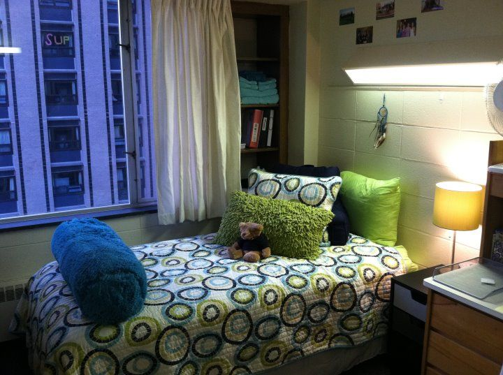 Single Dorm Room Ideas Colleges