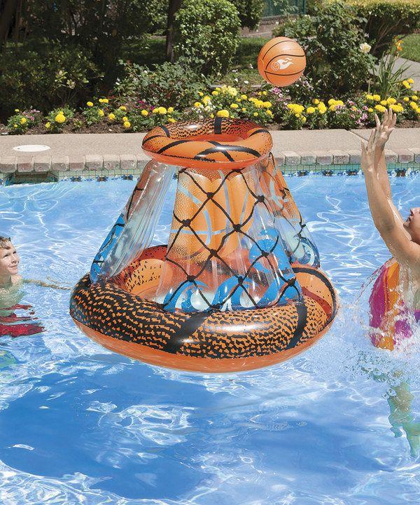 Look at this Poolmaster Splash Point Basketball Game Set ...