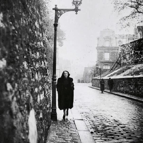 adreciclarte — Brassai - Edith Piaf, Paris, 1930