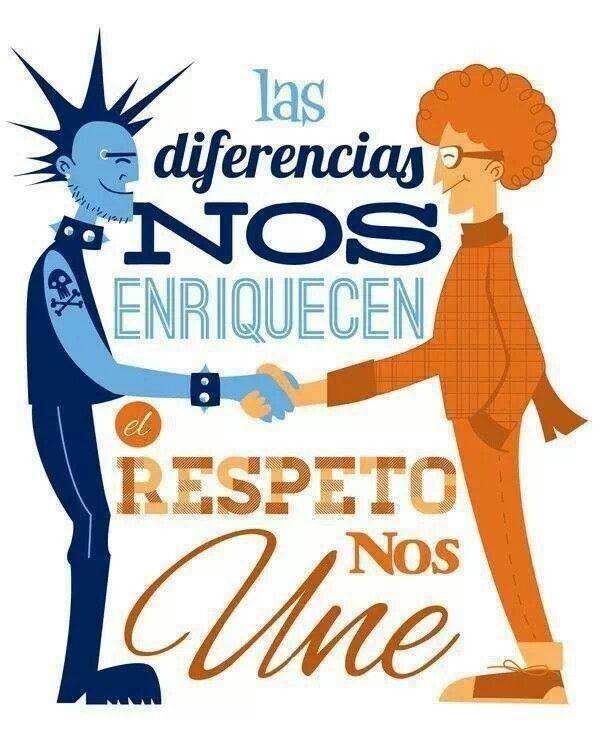 El respeto nos une*                                                       …