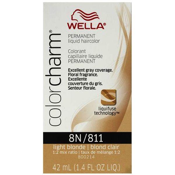 Wella Color Charm Liquid 8n 811 Light Blonde Beaubar Supply