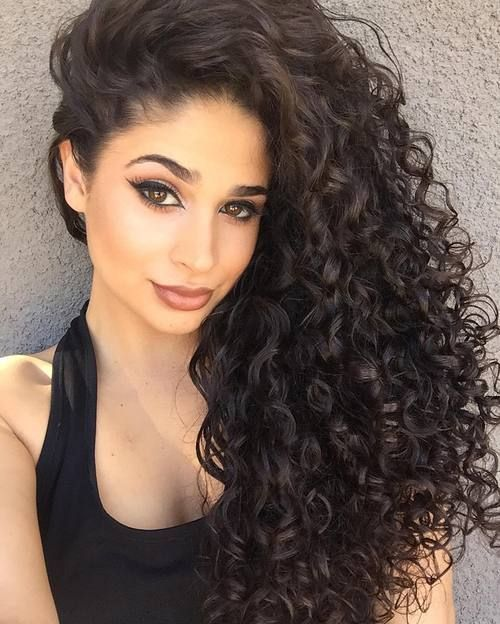 Incredible 1000 Ideas About Curly Hairstyles On Pinterest Hairstyles Hairstyle Inspiration Daily Dogsangcom