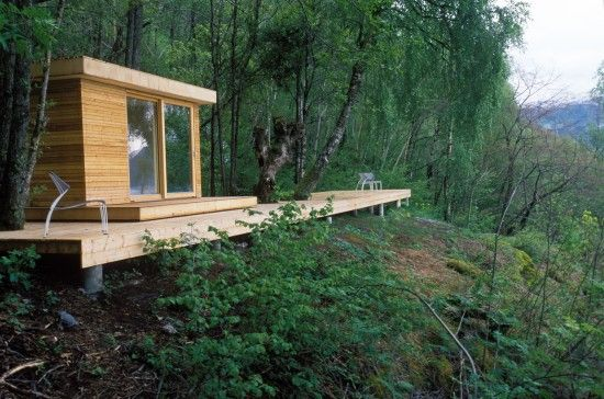 Hardanger Retreat, Norway by Saunders Architecture