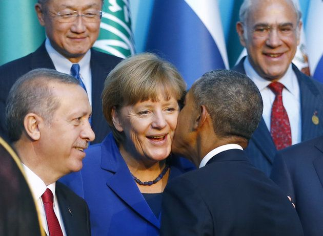 Photos Show President Obama and Angela Merkel Will Probably Miss Each Other A Lot | The Huffington Post