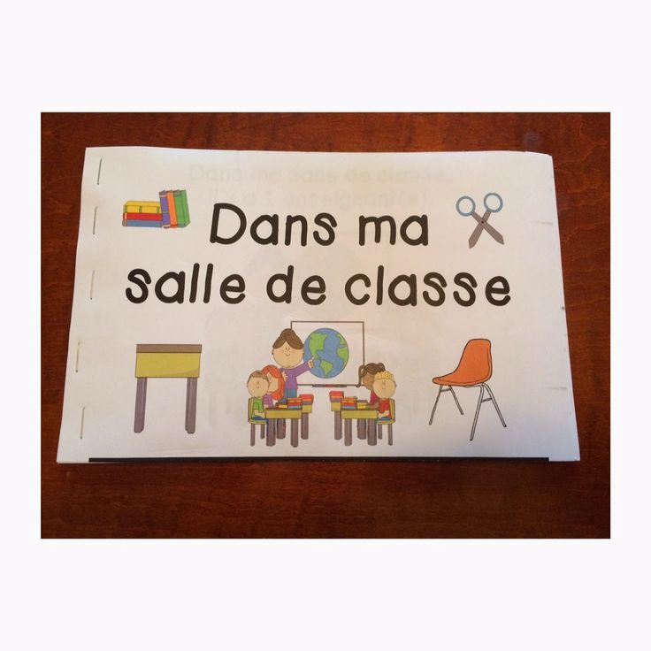 Primary French Immersion Resources: Dans ma salle de classe...