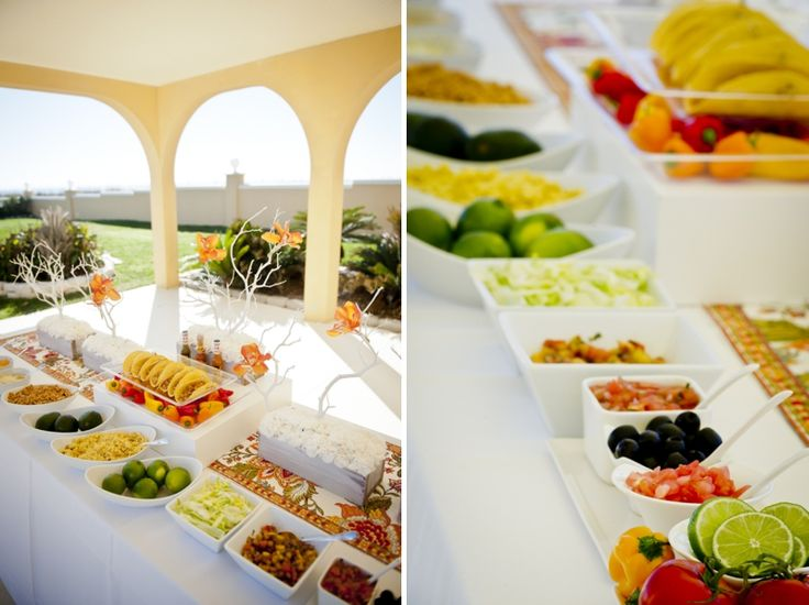 17 Best Beach Wedding Foods Images On Pinterest: 1000+ Ideas About Mexican Food Catering On Pinterest