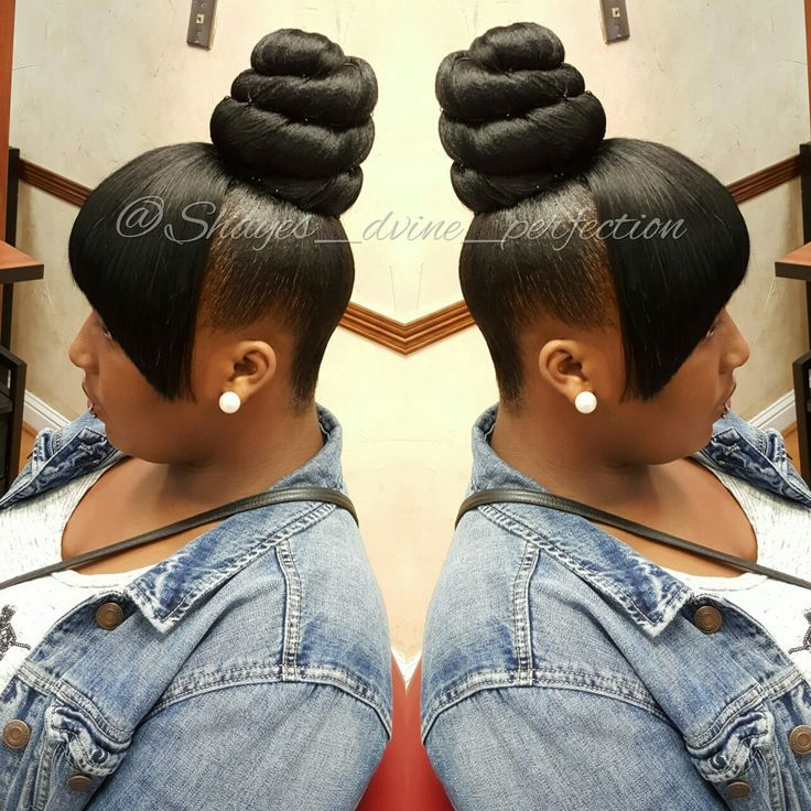 Ponytail Updo Hairstyles For Black Hair Black