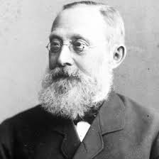 1859 - Rudolph Virchow coins the term neuroglia; He also proposes the 3rd tenet of Cell Theory that all cell come from the division of pre-existing cells.