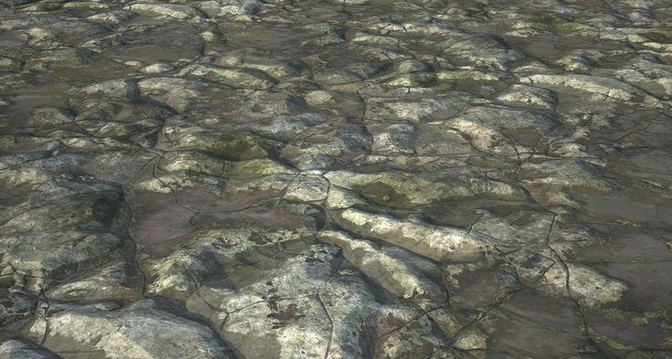 ArtStation - Procedural Stone Texture, Aiden Wilk