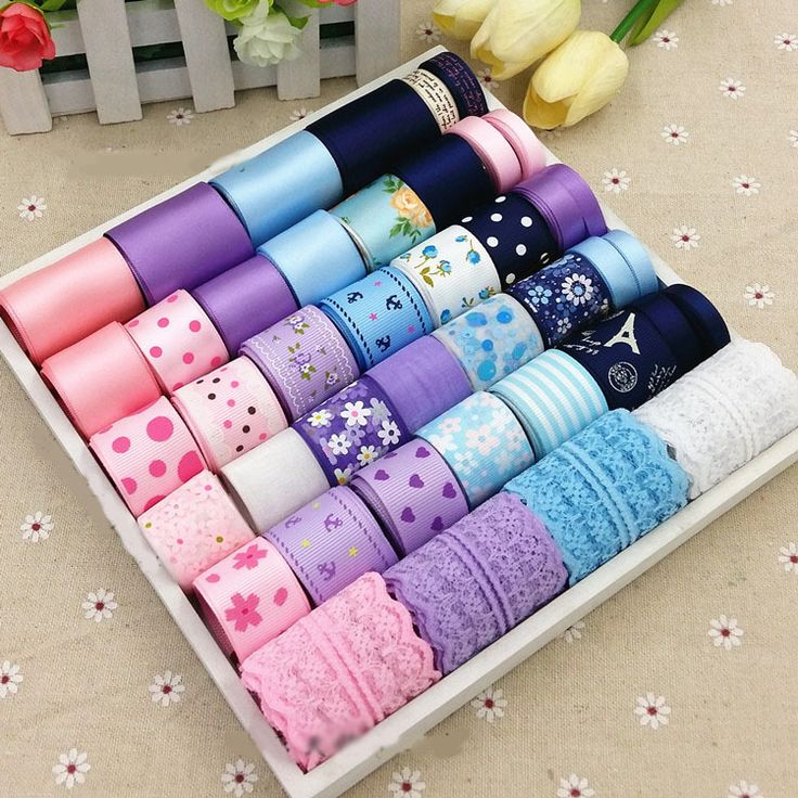 Купить товар42 м mix атласной лентой комплект цветов печатный тканая ленты из органзы рубан швейные ленты чинта DIY луки аксессуары кружева H138 в категории Лентына AliExpress.