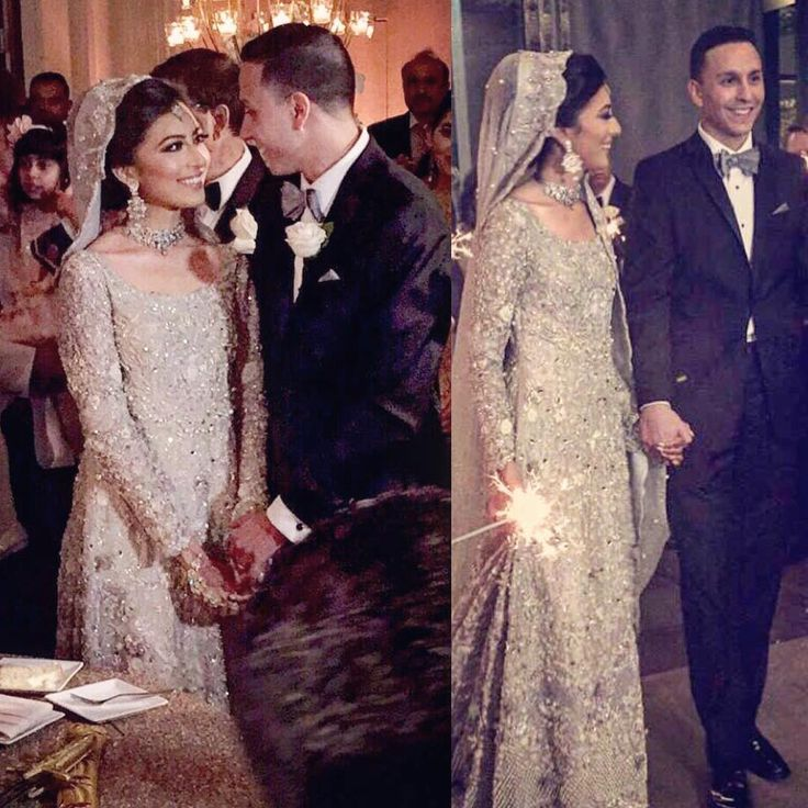 Pakistani Bride & Groom | Beautiful Bridal Dress | Stunning & Chic Look | InstaPic