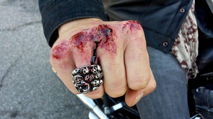 Bloody Knuckles SFX Artist MJ DuBarr