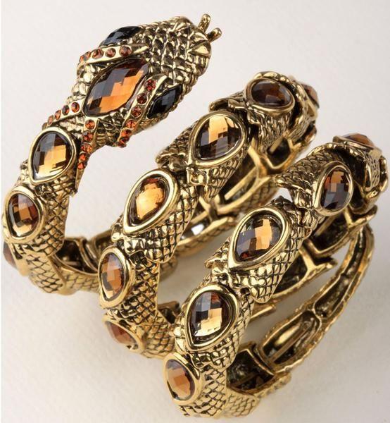 Charms Snake design for Women Pearl Adjustable Bracelet – SilkRoads Online
