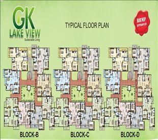 2 & 3 BHK Luxury Apartmentson Sale In GK Lake Veiw - 2 Bedroom / BHK Flat/apartment For Sale In Yelahanka Bangalore