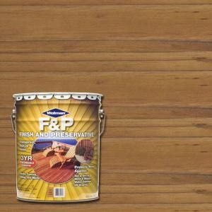 Wolman 5-gal. F&P Cedar Exterior Wood Stain Finish and Preservative