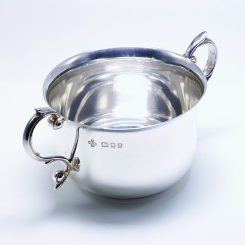 Quality-Smart-Solid-Sterling-Silver-Porringer-Bowl-1929-L-14-cm-150-g