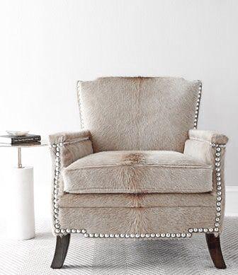 Emmit Hairhide Chair