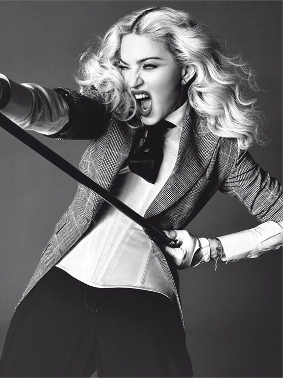 Madonna by Tom Munro for L'Uomo Vogue May/June 2014