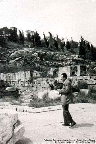 Albert Camus in Elefsina