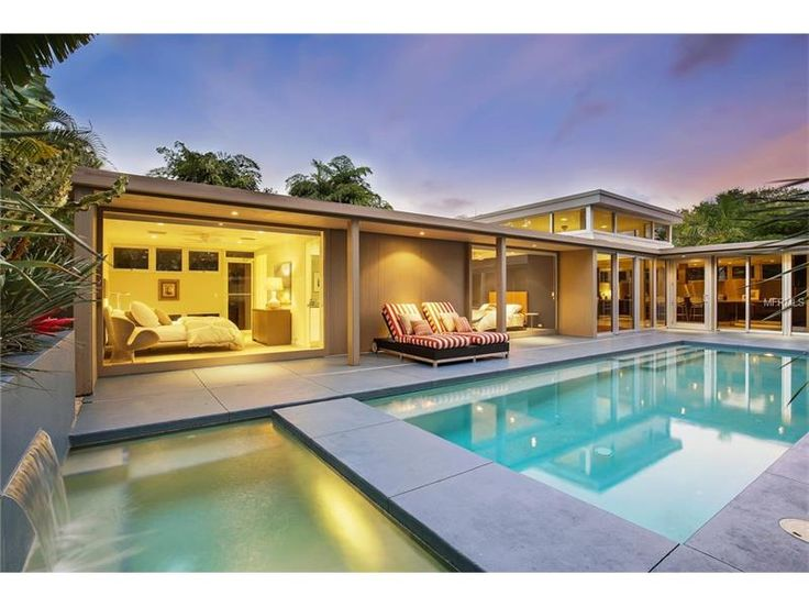 SOLD   1950u0027s Lido Shores Home In Sarasota. Mid Century Modern Designed By