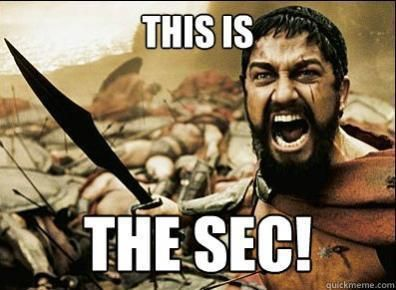 This is the SEC!