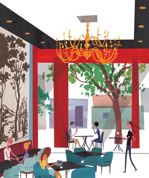 Arte Design In Los Angeles Images: 29 Best Images About Nick Lu Illustration On Pinterest