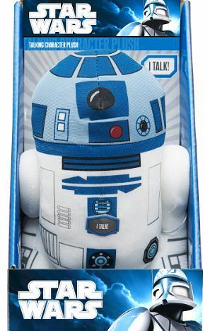 Star Wars 9 inch Talking R2D2 Plush Several classic Star Wars chracters are recreated as talking 9 tall plushes! Fans can choose from their favorites - the astromech droid R2-D2, the Sith lord Darth Vader (Barcode EAN = 0882041002393) http://www.comparestoreprices.co.uk/star-wars-toys/star-wars-9-inch-talking-r2d2-plush.asp
