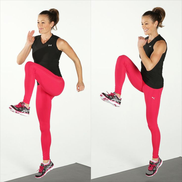 Can't make it to the gym? Hate to run? These 43 exercises will get your heart rate up and tone your body, too.